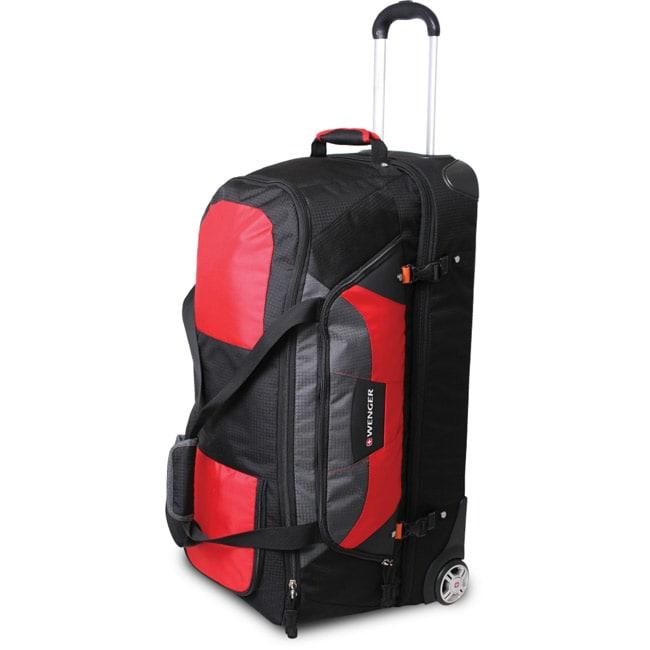 Wenger SwissGear Sierre II Red 30-inch Rolling Upright Duffel Bag