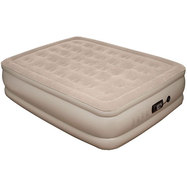 Pure Comfort Queen-size Raised Suede Top Air Bed