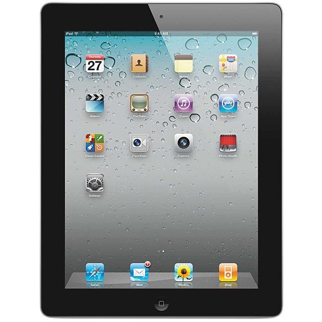 Apple iPad 2 Black Tablet 32GB Wi-Fi (Refurbished)