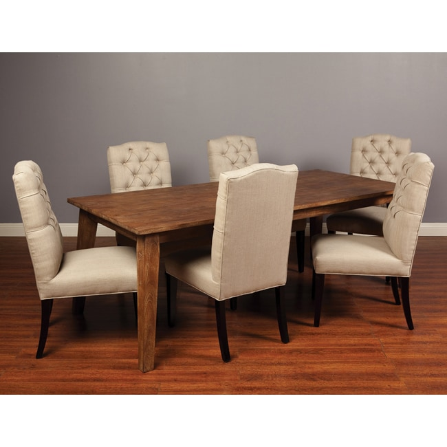 Kosas Home Nela Dining Table 72-inch - Sand