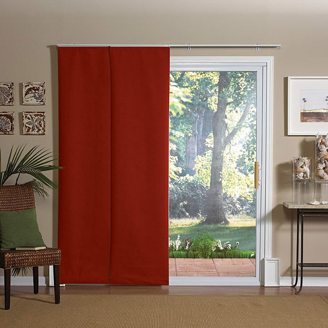 Rosewood Windows and Patio Doors Fabric Panel Blinds