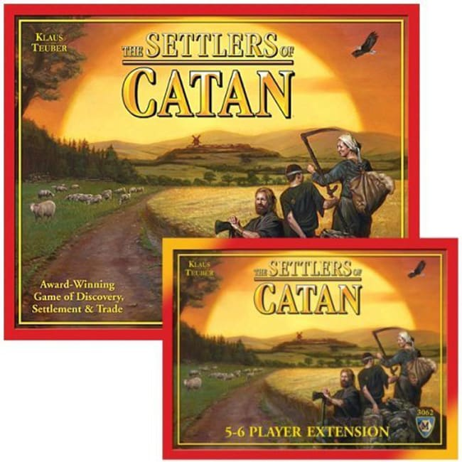 Mayfair 4th Edition Bundle The Settlers of Catan Board Game
