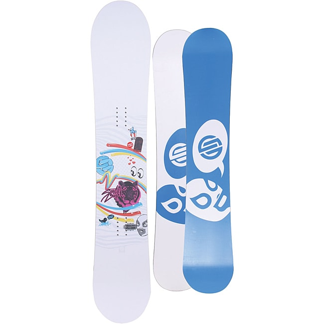 Santa Cruz Women's Suave Eyes 150cm Snowboard