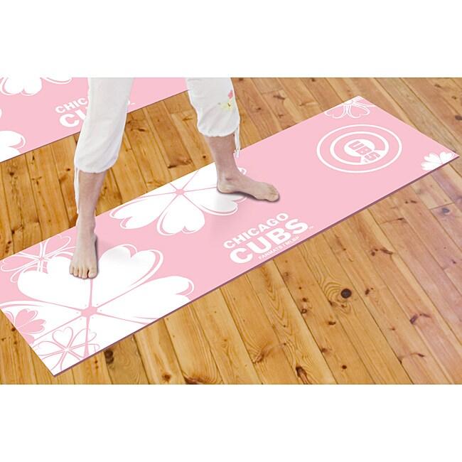 Fanmats Chicago Cubs Yoga Mat