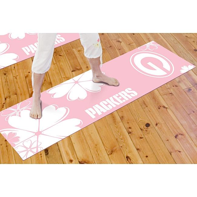 Fanmats Green Bay Packers Yoga Mat