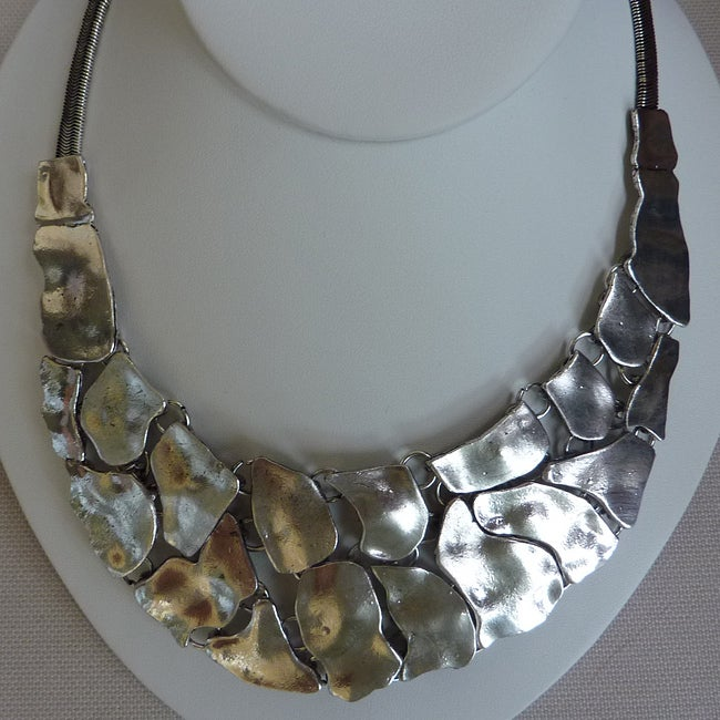 Silver Abstract Necklace