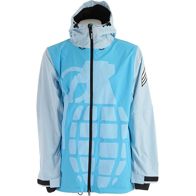 Grenade Men's Blue Exploiter Snowboard Jacket