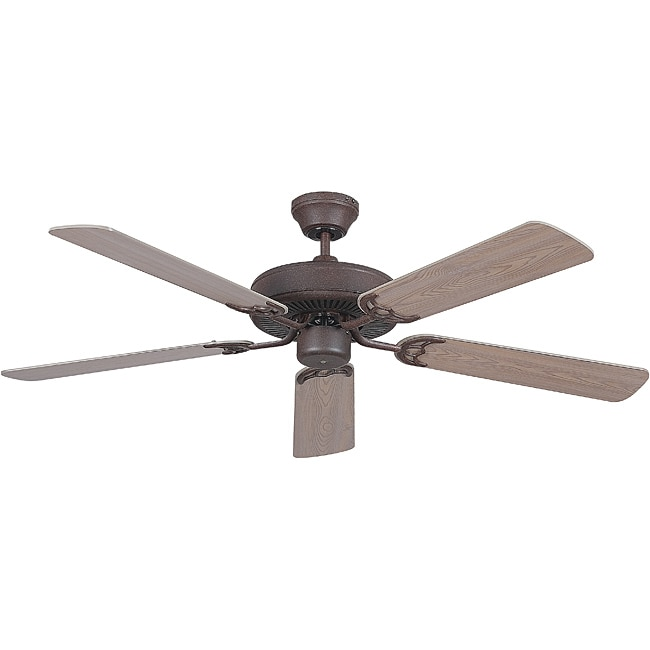 Rubbed Bronze 52-inch Ceiling Fan