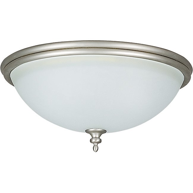 Two-light Flush Mount Fixture
