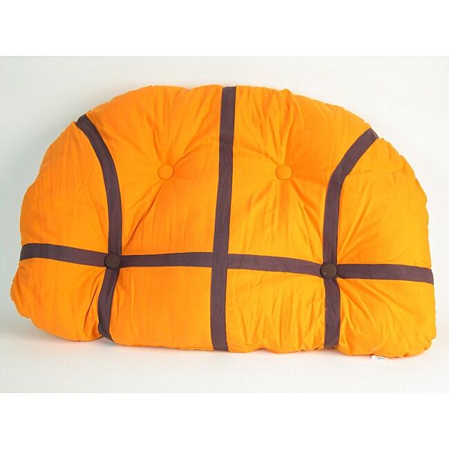 Decorative Basketball Pillow Headboard