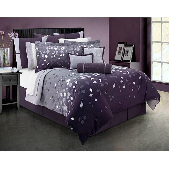 Lavender Dreams Queen-size 4-piece Comforter Set
