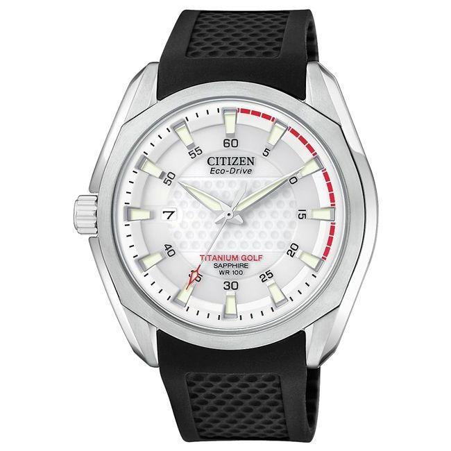 Citizen Men's Titanium Eco-Drive Golf Watch