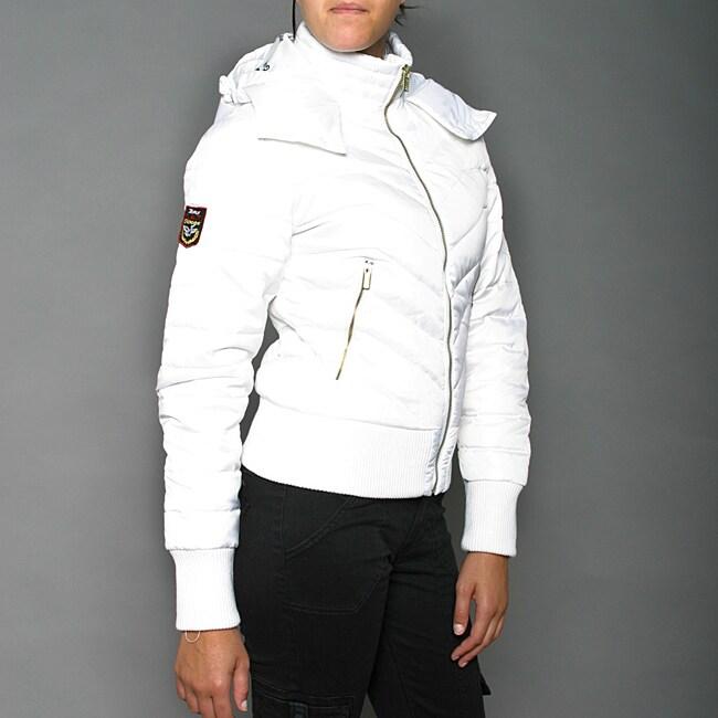 Canada Goose victoria parka replica price - Triple FAT Goose Women's White Zip Hoodie Jacket - 13955230 ...