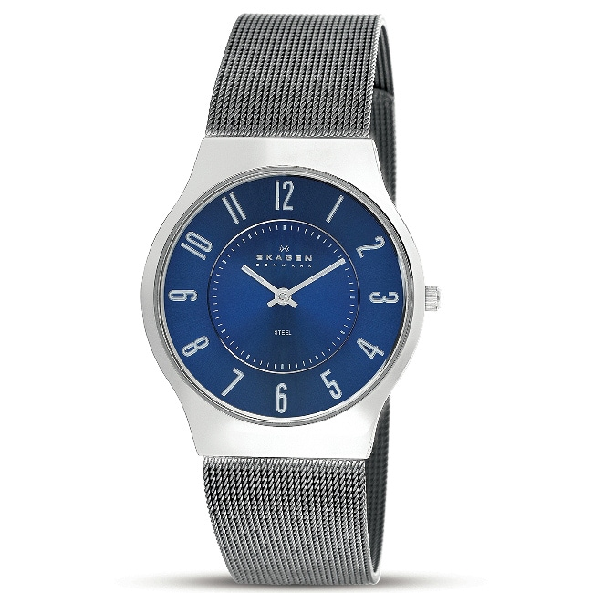 Skagen Men's Slimline Gunmetal Watch