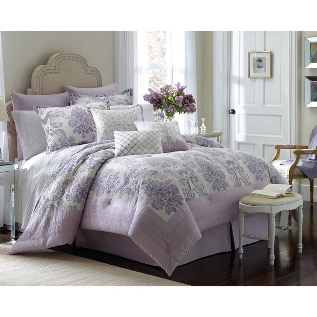 Laura Ashley Addison Queen-size 4-piece Comforter Set