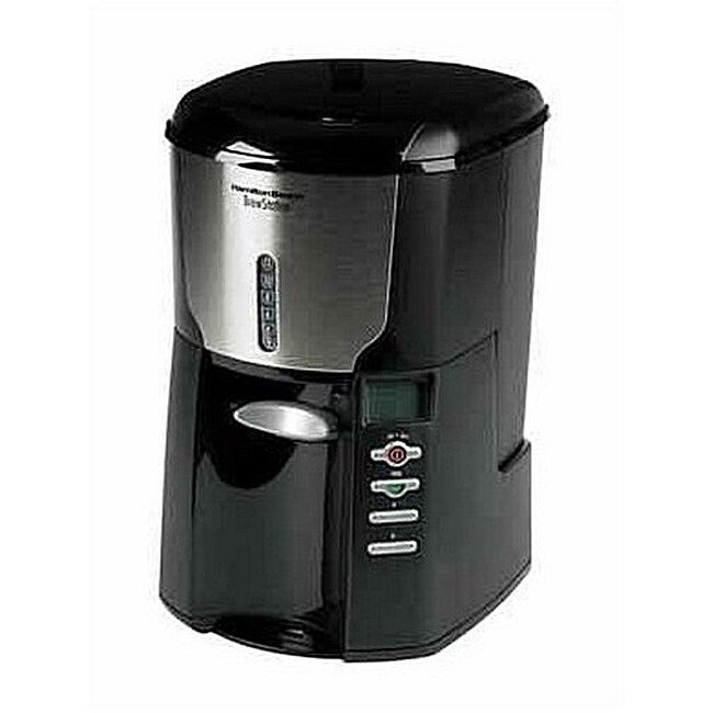 Hamilton Beach 47665 BrewStation Plus 12-Cup Automatic Drip Coffeemaker (Refurbished)