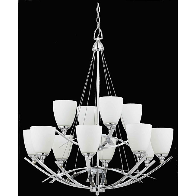 Neptune 12-light Energy Star Chrome Chandelier