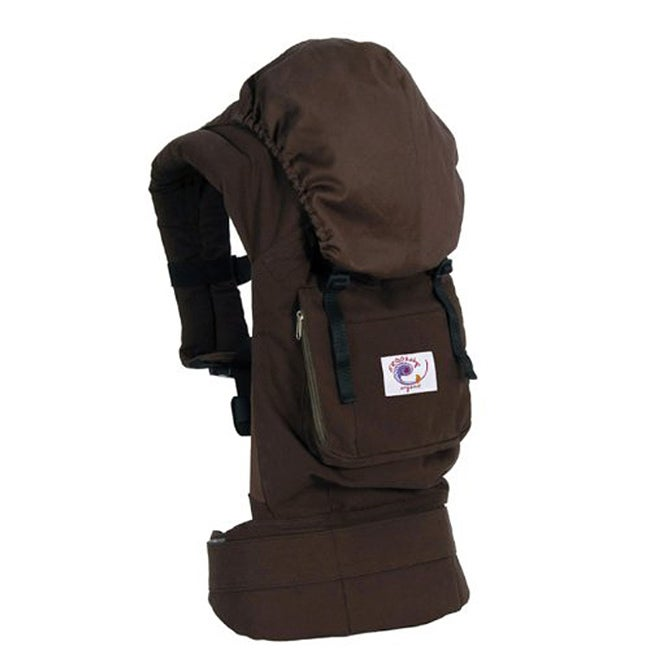 ERGObaby Organic Baby Carrier in Chocolate