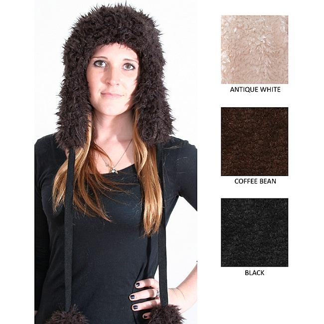 Marlo Lorenz Women's Ryan Lion Faux Fur Trapper Hat