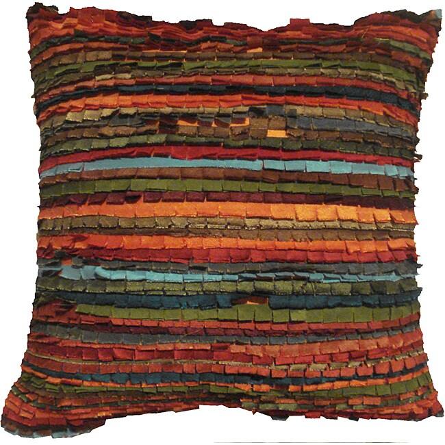 """La Primitive Stipes 18"""" Pillow Set of 2"""