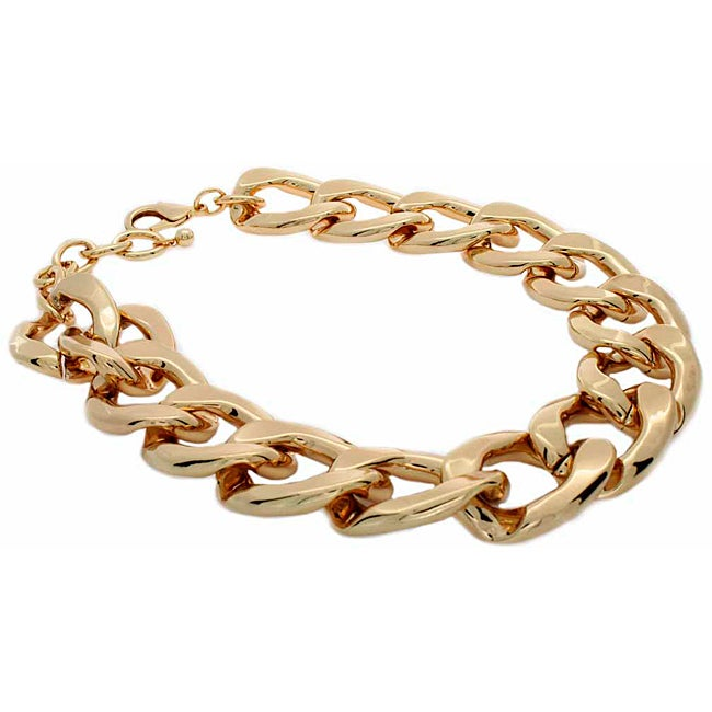 NEXTE Jewelry Goldtone Extra Large Cuban Chain Necklace