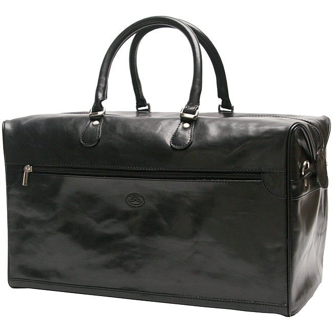 Tony Perotti Venezzia Get-Away Leather Duffle Bag