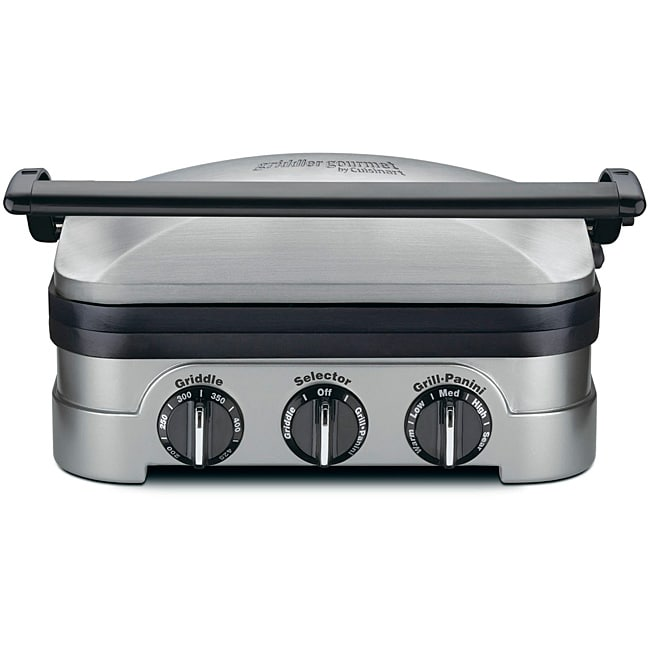 Cuisinart GRID-8NPC Multifunctional Gourmet Griddler (Refurbished)