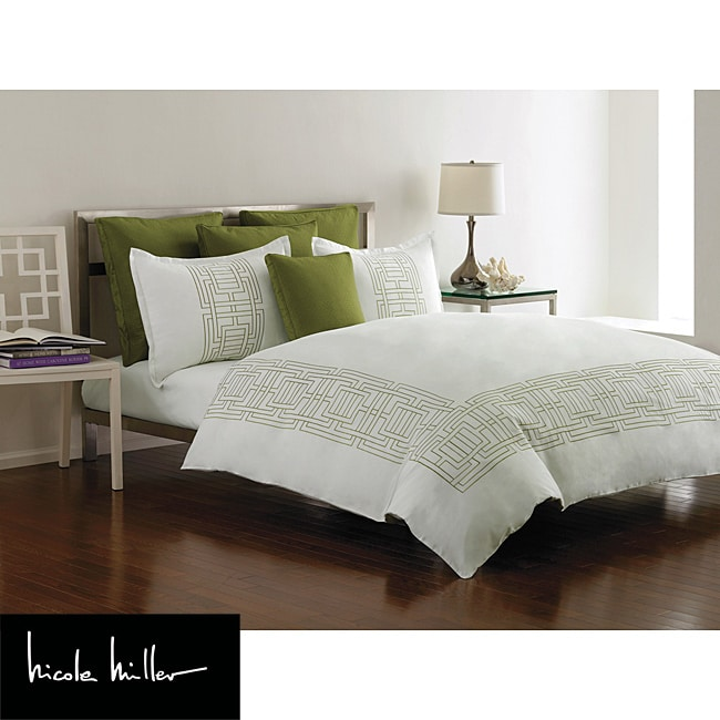 Nicole Miller Argos Apple Full/Queen-size Duvet Cover