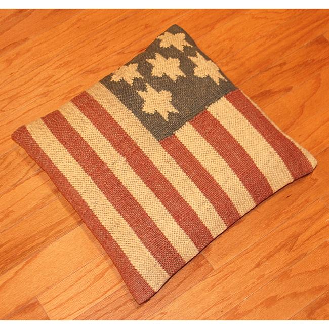 Tribal Indo Kilim Pillows (Set of Two)