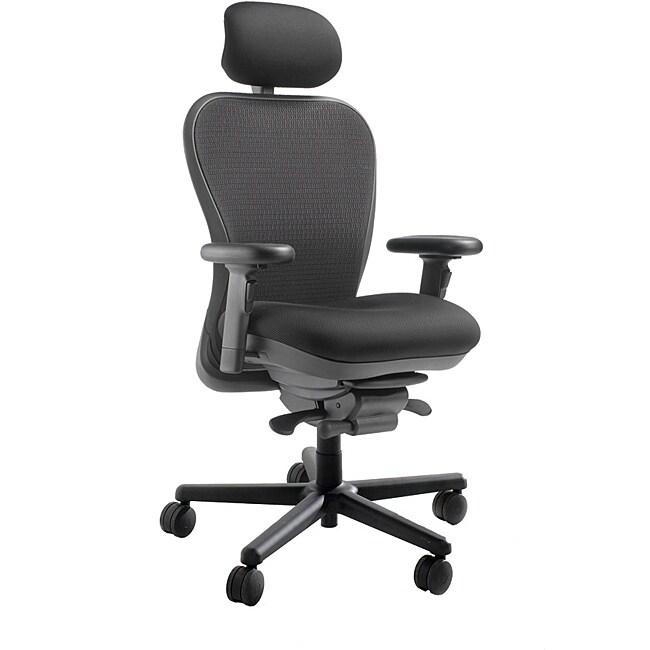 CXO Heavy Duty Mid Back Office Chair with Headrest