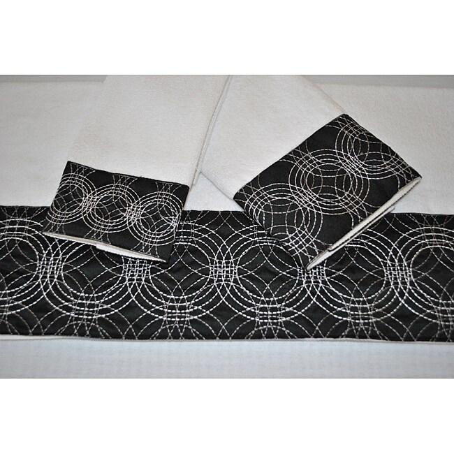 Sherry Kline Circa Decorative 3-piece Towel Set