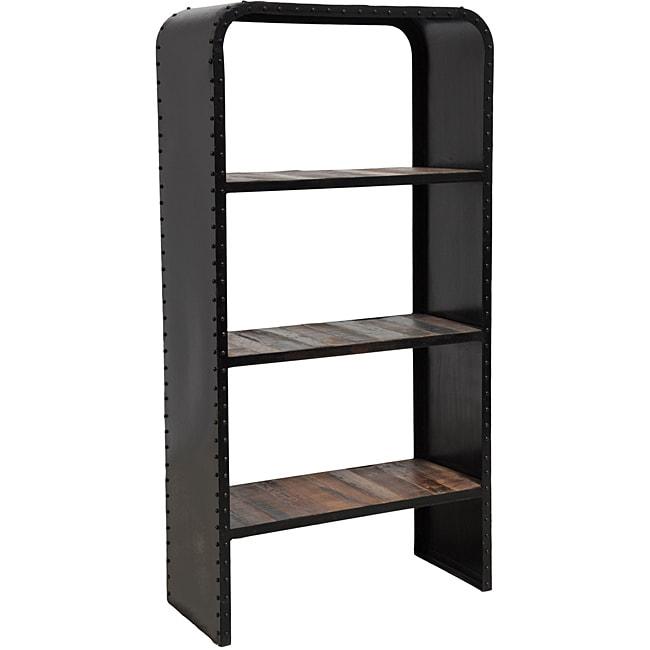 Brix Dark Bronze Bookshelf