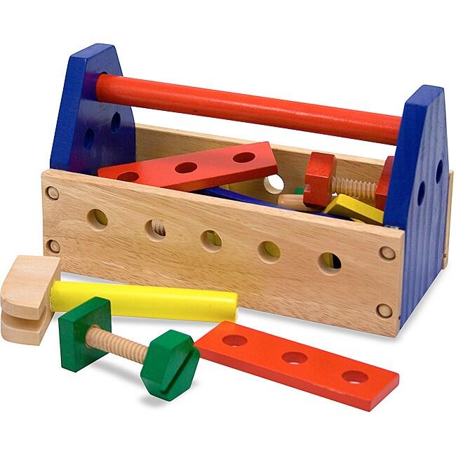 Melissa & Doug Take-along Tool Kit Play Set