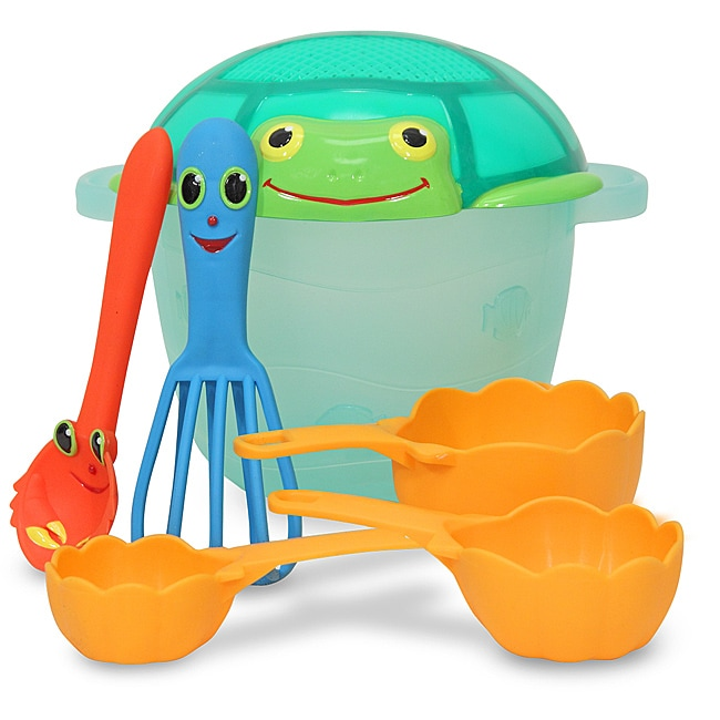 Melissa & Doug Seaside Sidekicks Sand Baking Play Set