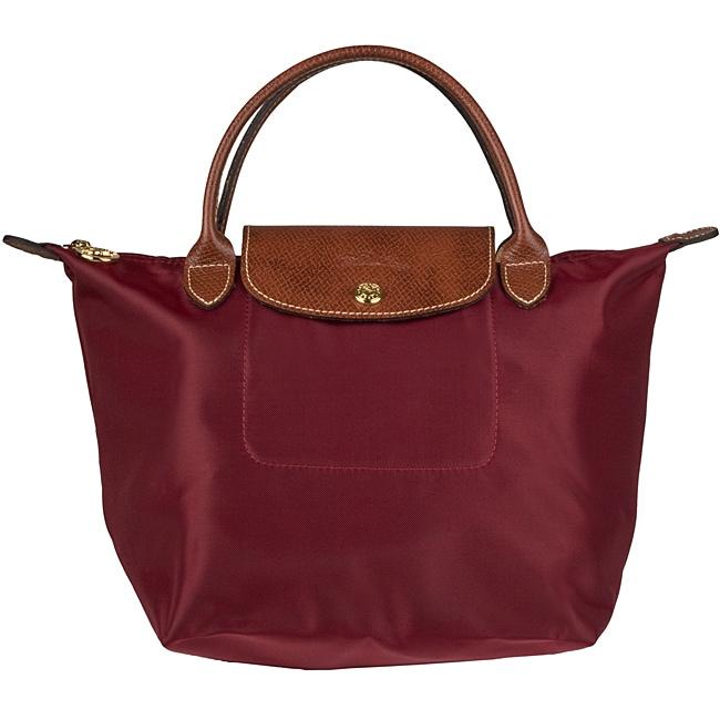 Longchamp Le Pliage Small Foldable Nylon Tote Bag
