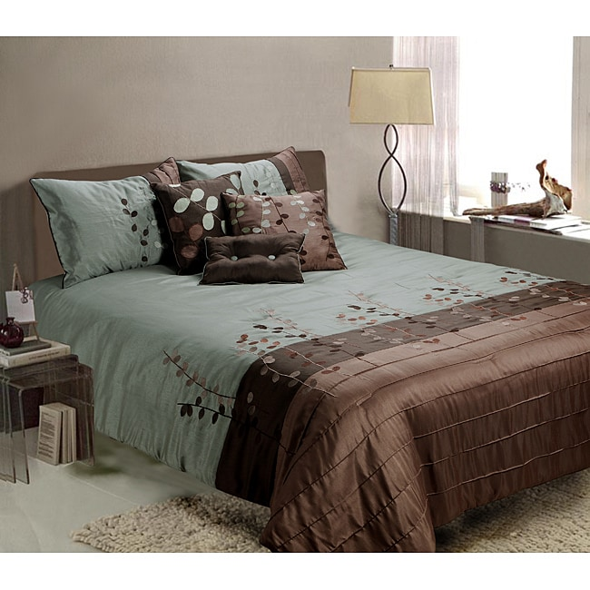 AT HOME by O Linea 7-piece Queen-size Comforter Set at Sears.com