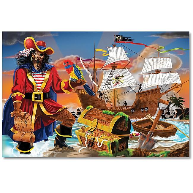 Melissa & Doug 100-piece Pirate's Bounty Floor Puzzle