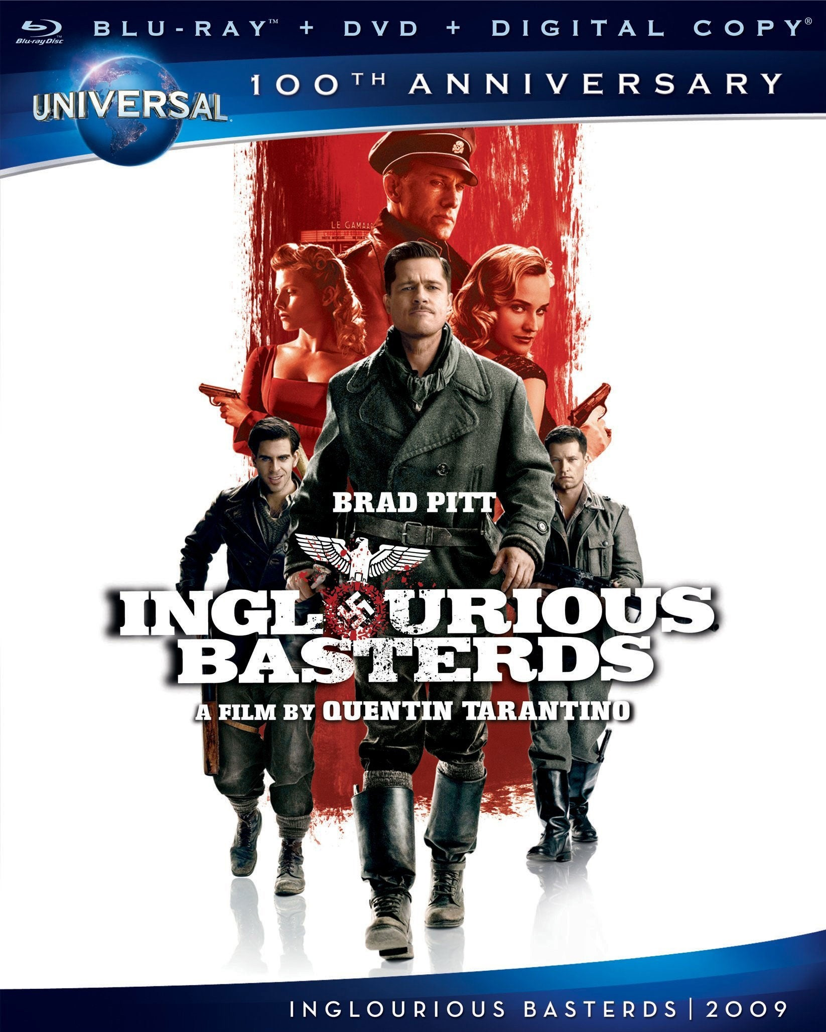 Inglourious Basterds (Blu-ray/DVD)