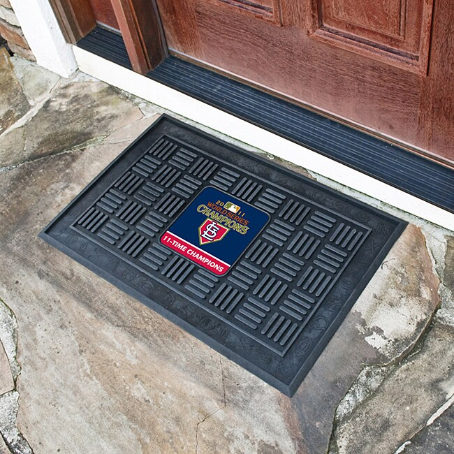 Fanmats MLB St. Louis Cardinals 2011 World Series Medallion Door Mat