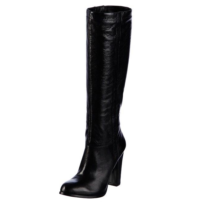 Nine West Women's 'Magic' Black Leather Boots FINAL SALE