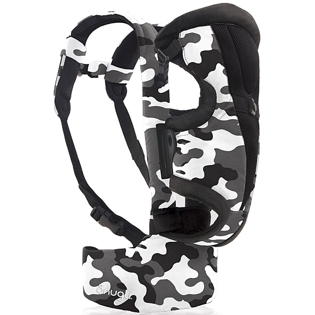 Evenflo Snugli Front and Back Soft Carrier in Camouflage Black