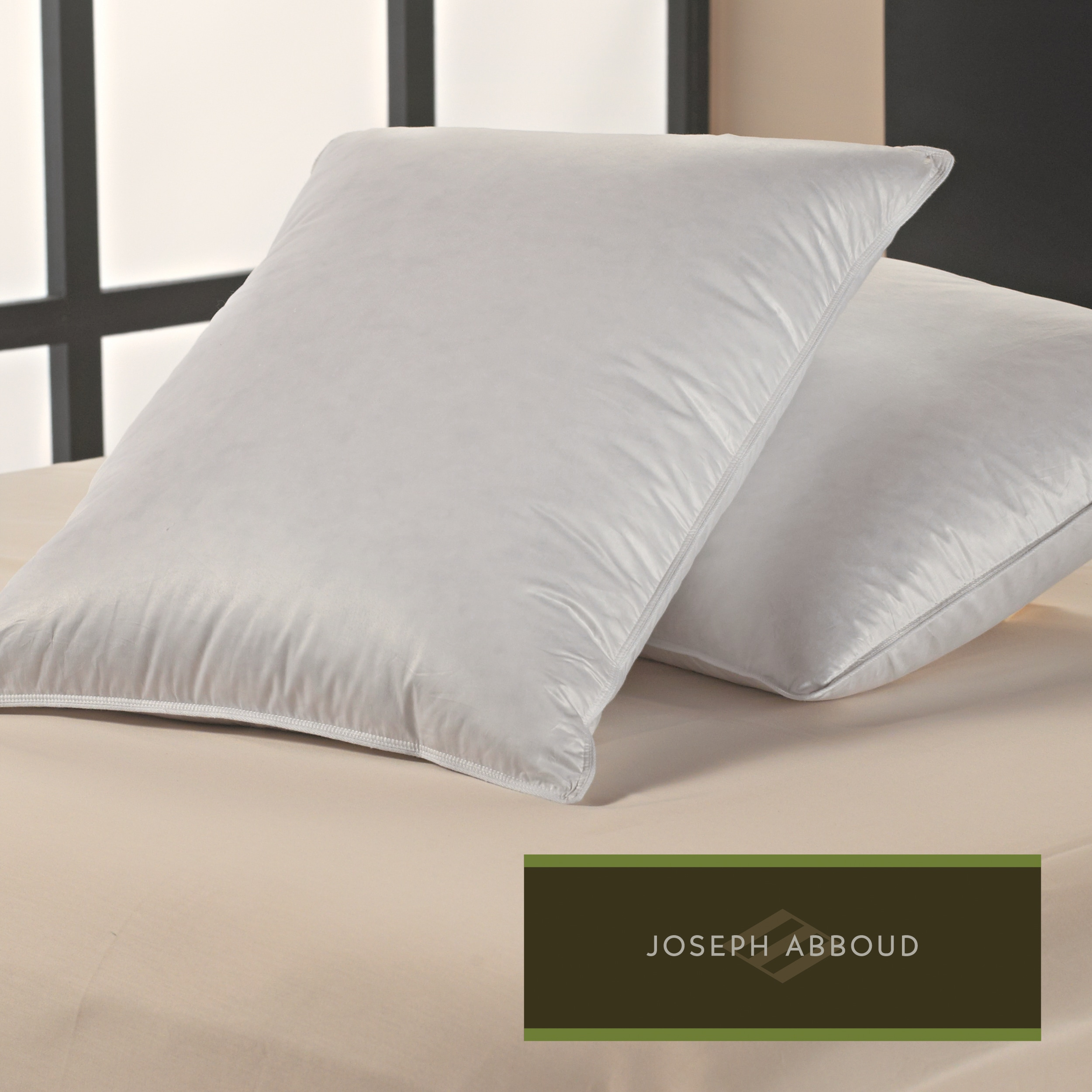 Overstock.com Joseph Abboud 300 Thread Count Luxury Comfort Pillows (Set of 2) at Sears.com