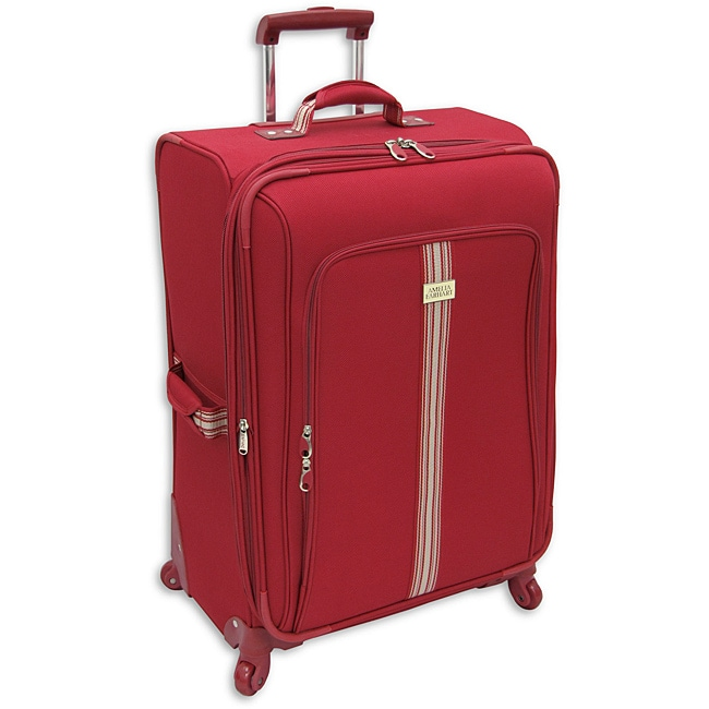 Amelia Earhart Runway Red 28-inch Expandable Suiter