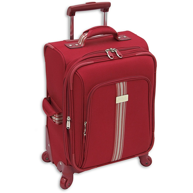 Amelia Earhart Runway Red 20-inch Expandable Carry-On Spinner Upright