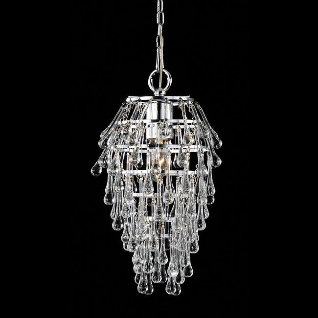 Namika 1-light Clear Crystal Chandelier