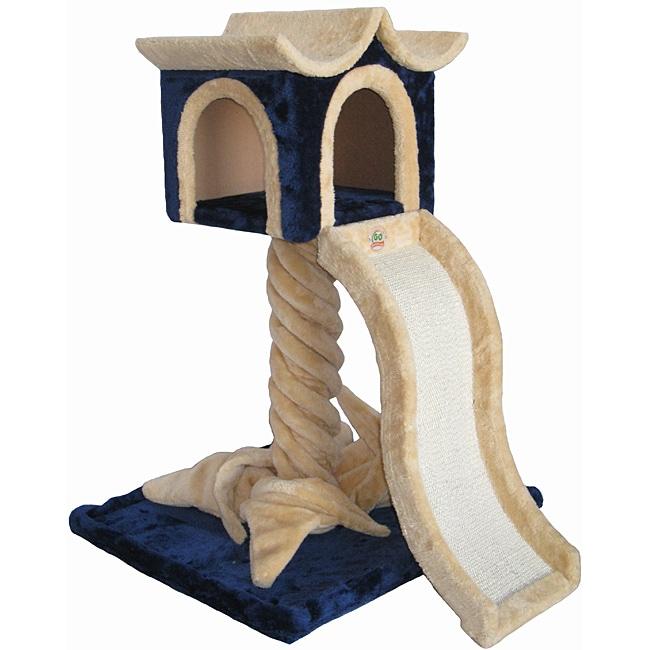 Go Pet Club Cat Tree Furniture with Ramp