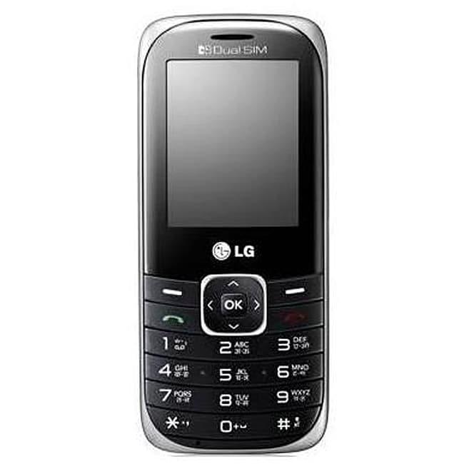 LG A165 GSM Unlocked Black Cell Phone