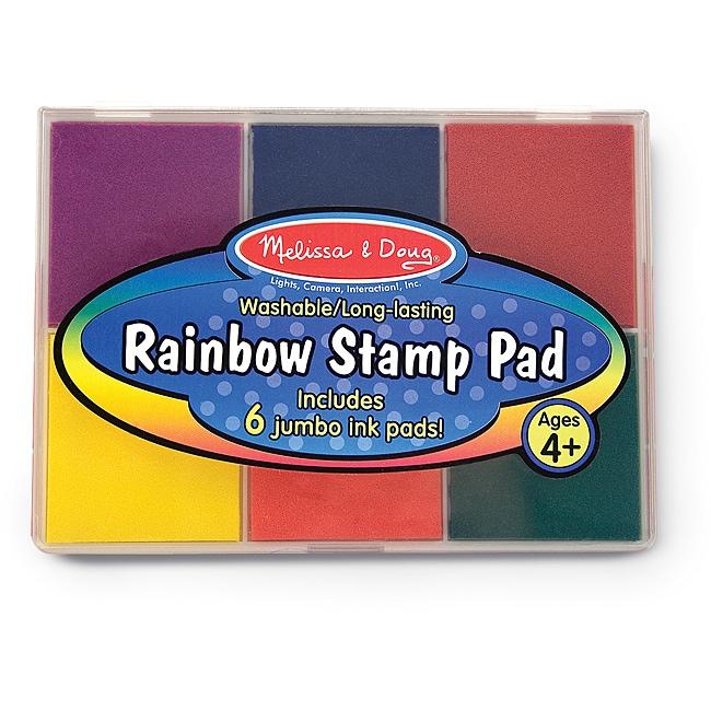 Melissa & Doug Rainbow Stamp Pad