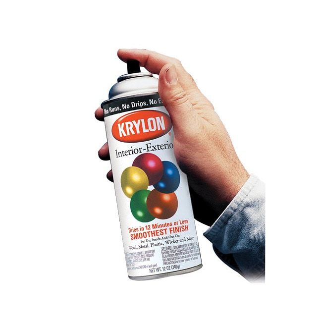 Overstock.com Krylon 12oz. Cherry Red 5-ball Interior/ Exterior Spray Paint (6 Cans) at mygofer.com