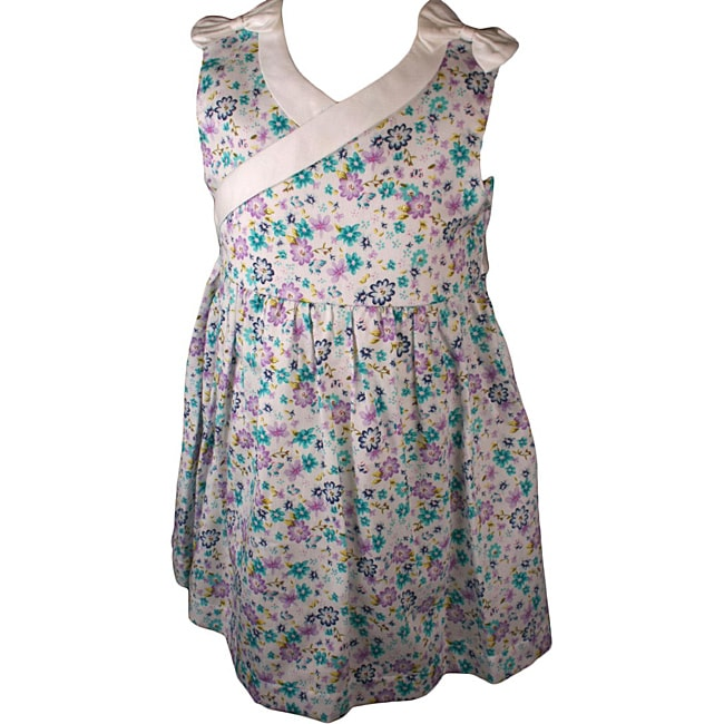 Laura Ashley Floral Print Baby Sundress